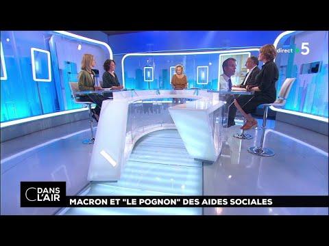 """Macron et """"le pognon"""" des aides sociales #cdanslair 13.06.2018"""