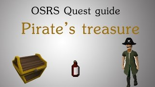 [OSRS] Pirates Treasure Quest Guide
