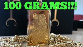 Largest GOLD PAMP ever made!!!