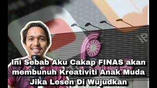 Lesen FINAS Akan membunuh Kreativiti Anak Muda Jika Dilaksanakan (Youtube, Tiktok dan Instagram)