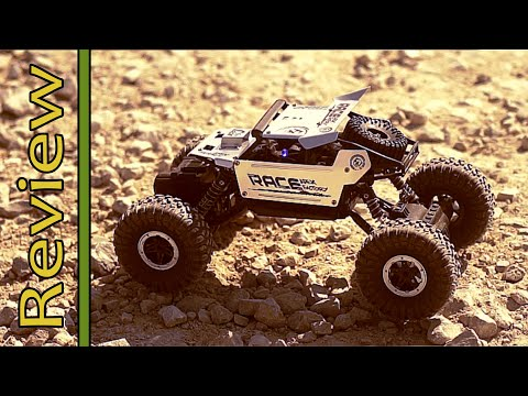 Review: Banggood - Flytec 9118 1/18 2.4G 4WD Alloy Off Road RC Climbing Car