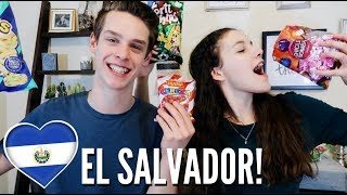 Trying Salvadoran Snacks!