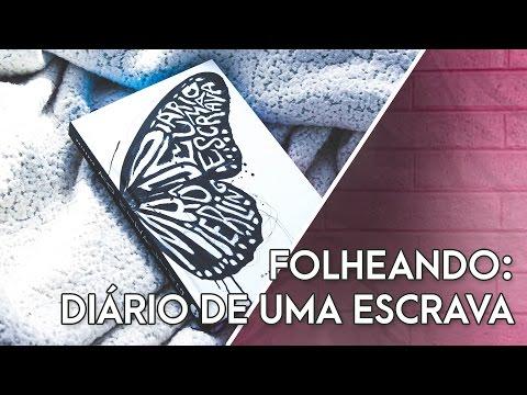 FOLHEANDO DIÁRIO DE UMA ESCRAVA de Rô Mierling - @darksidebooks | Pausa Para Um Café