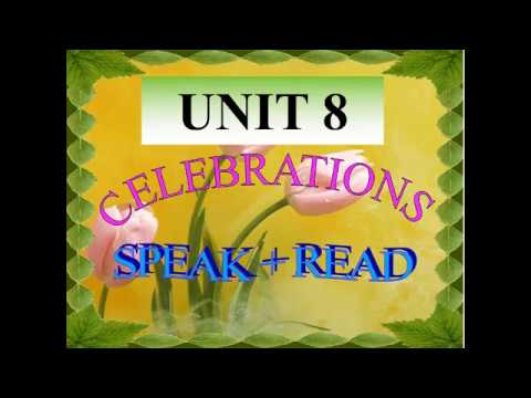 TIẾNG ANH 9 (7 NĂM) - UNIT 8: SPEAK AND READ