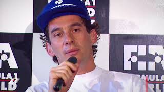 Senna Rages After Bust-Up With Irvine | 1993 Japanese Grand Prix