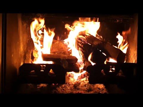 ★ Crackling Fireplace 4K ★ Relaxing fireplace sound ★
