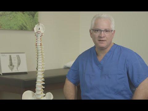 Punkte in Osteochondrose Schaltung