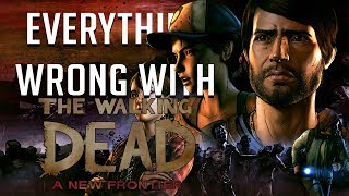 GamingSins: Everything Wrong with The Walking Dead: A New Frontier Ep. 1 & 2 - The Ties that Bind