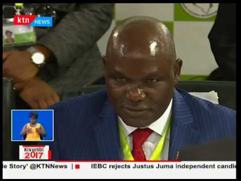IEBC clears 8 presidential candidates three of whom are independent candidates