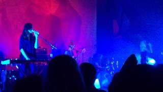 Warpaint - No way out, live @ Freiheiz, München 2014