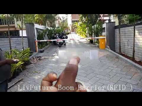 Automatic Boom Barrier with RFID
