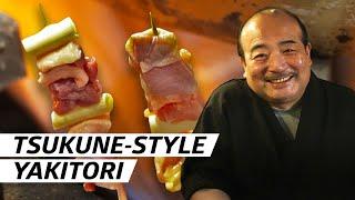 How Chef Kazuhiro Watanabe Grills 360 Tsukune-Style Yakitori Sticks a Day  — First Person thumbnail