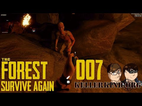 Tief in der dunklen Höhle ★ #007 ★ We play The Forest - SURVIVE AGAIN [HD|60FPS]