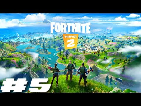 Fortnite Chapter 2 Battle Royale PS4 Live Stream - TOP 5