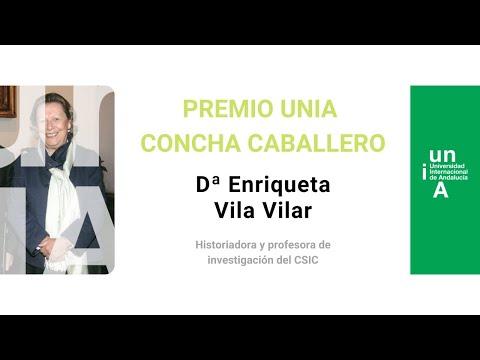La UNIA distingue con el Premio Concha Caballero a la historiadora Enriqueta Vila