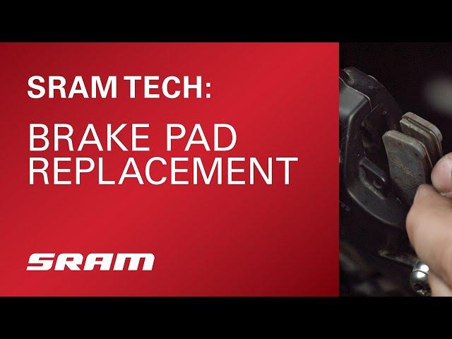 Видео Тормозные колодки Sram AM Brake Pad Guide/TRL STLSIN