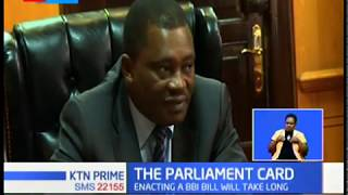Justin Muturi: We cannot receive the BBI report because it doesn't belong to us