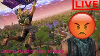 Going Tilted Towers Solo in Fortnite Battle Royale! LIVE