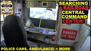 Searching a Rail Road Central Command Center! Crown Rick Auto