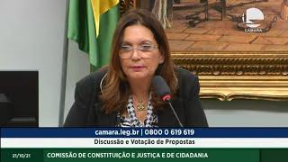 CONSTITUIÇÃO E JUSTIÇA - Discussão e Votação de Propostas - 21/10/2021 10:00