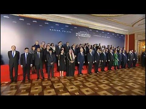 Βαρσοβία: Διεθνής Διάσκεψη για τη Μέση Ανατολή
