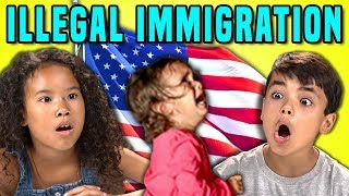 KIDS REACT TO KIDS SEPARATED FROM THEIR PARENTS (Illegal Immigration)