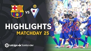 Highlights FC Barcelona vs SD Eibar (5-0)