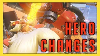 Checking Out New Hero Changes! - Seagull - Overwatch