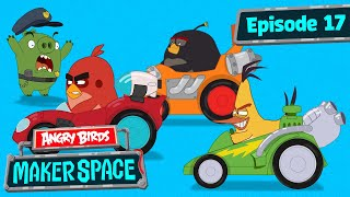 Angry Birds MakerSpace | Race To The Finish!   S1 Ep17