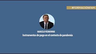 Instrumentos de pago en el contexto de pandemia. Dr. Marcelo Vedrovnik