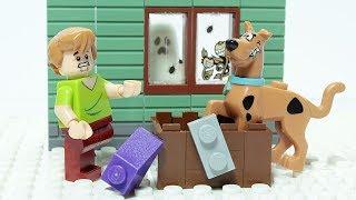 Lego Scooby Doo Brick Building Haunted House