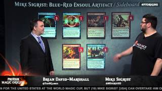 Pro Tour Magic Origins Quarterfinals (Standard): Kentaro Yamamoto vs. Mike Sigrist