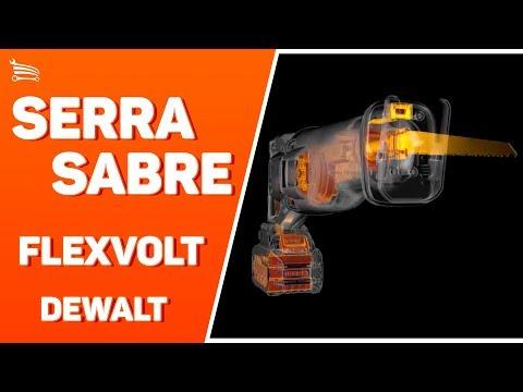Serra Sabre Brushless Flexvolt 60V Max  com 2 Baterias 6,0Ah - Video