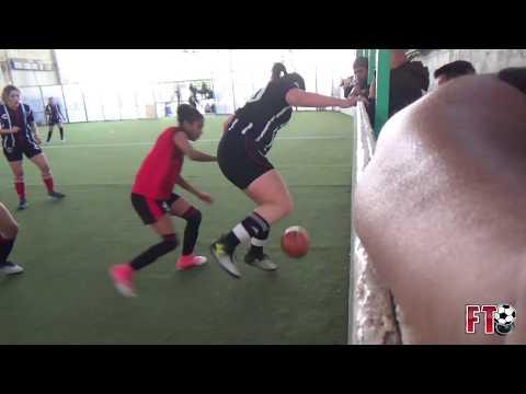LAS CRACKS VS CALVARIO FC - FINAL LIGA FEMENIL FUTBOL RAPIDO - 2018