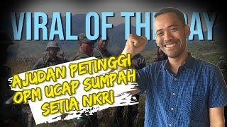 VIRAL OF THE DAY: Empat Anggota OPM Kembali ke NKRI karena Iri Melihat Warga Indonesia Hidup Makmur