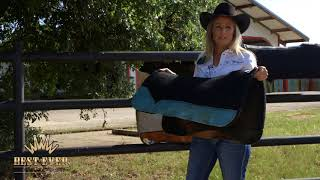 Different Saddle Pads For Barrel Racing