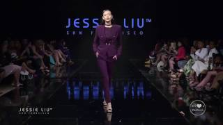Jessie Liu at Art Hearts Fashion Los Angeles Fashion Week FW/17