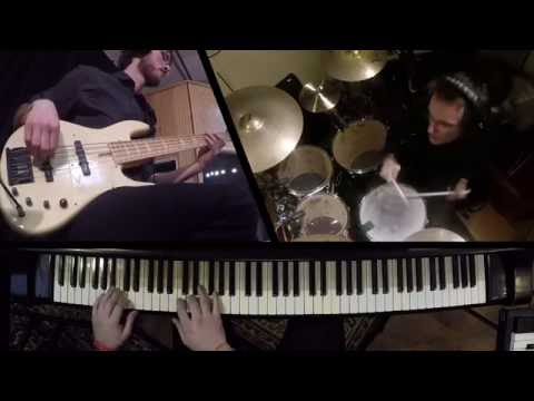 Playing with the Jazz Fusion trio - VLADAN V3