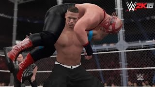 WWE 2K16: 60 Second Fury - Attitude Adjustment/FU