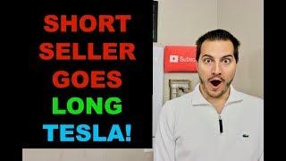 TESLA STOCK SKYROCKETS AFTER SHORT SELLER GOES LONG