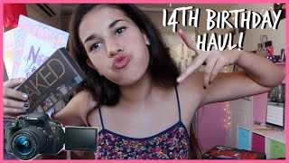 14th Birthday HAUL! | Ava Jules