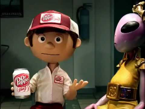 Commercial for Diet Dr Pepper (2010) (Television Commercial)