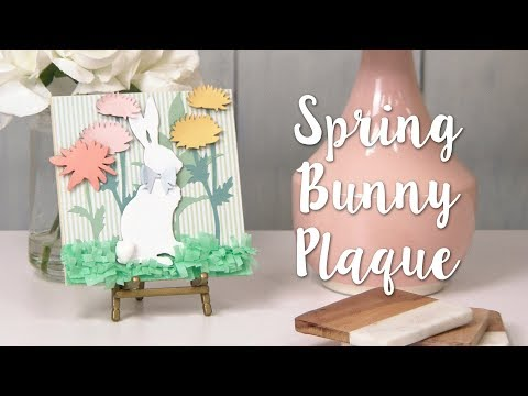 How to Make a Bunny Décor Piece! Beautiful Spring DIY