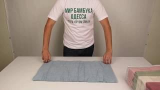 Полотенце хлопок 100%, 70 х 140 см., 6 шт / уп. 880114 от компании Текстиль оптом, в розницу от 1 грн. МИР БАМБУКА, Одесса, 7 км. - видео
