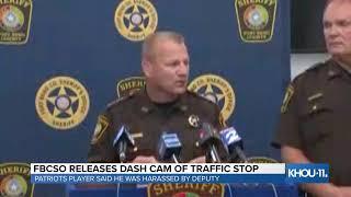 FBCSO releases dash cam video of traffic stop involving Patriots linebacker Elandon Roberts