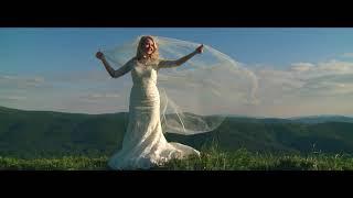Romantyczny, cudowny spacer ślubny - Bieszczady - Dron -  Platinum Studio Filmowe
