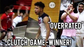 "Julian Newman GAME WINNER RUINS SENIOR NIGHT After ""OVERRATED"" Chants! Goes CLUTCH And Drops 30!"