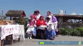 Кубанский обряд сватанья на кубанской балачке