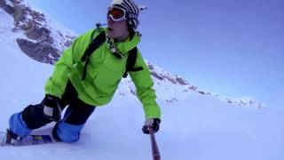 preview picture of video 'SuperDevoluy 2014 snowboard HD'