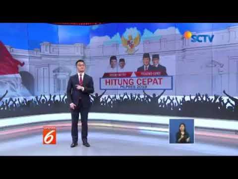 Liputan 6 SCTV Terkini Prabowo Sandi Unggul
